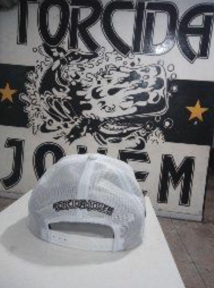 Boné Torcida Jovem Santos FC